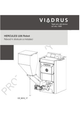 HERCULES U26 Robot Návod k obsluze a instalaci