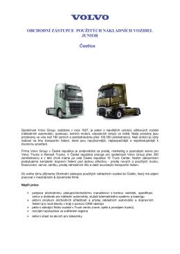 VOLVO Truck Czech s