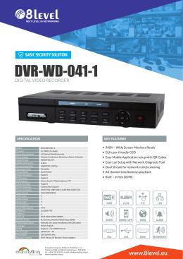 DVR-WD-041-1