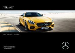 Ceník, platnost od 5. října 2015 - Mercedes-Benz