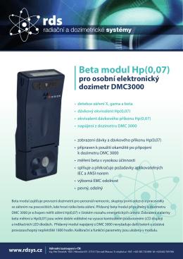 Beta modul Hp(0,07)