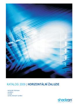 katalog horizontálních žaluzií (pdf 2 Mb)