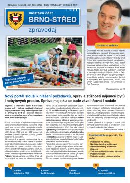 Zpravodaj MČ Brno-střed 4/2015 (duben)