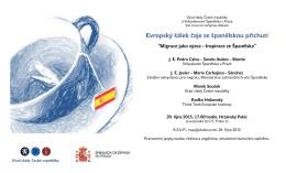 Evropský šálek čaje se španělskou příchutí