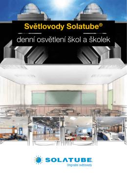 Světlovody Solatube® denní osvětlení škol a školek