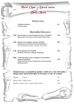 Denní menu_29.4.2015