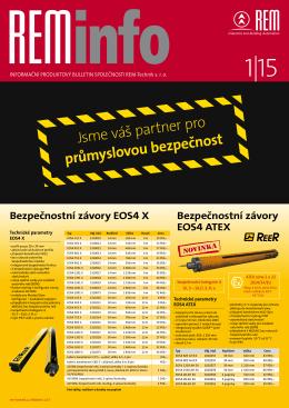 Jsme váš partner pro průmyslovou bezpečnost - REM