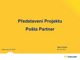 Představení Projektu Pošta Partner