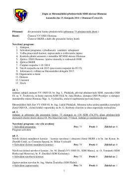 Zápis z SPS okresu 2014-11-15
