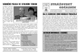 Zde - Město Strážov