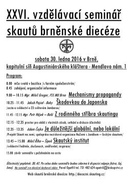 Brno-Skautský seminář 2016
