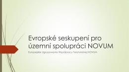 Evropské seskupení pro územní spolupráci NOVUM