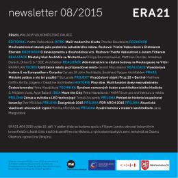 newsletter 08/2015