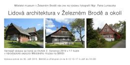 zde - Městské muzeum v Železném Brodě