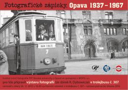 Fotografické zápisky, Opava 1937 – 1967