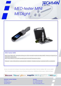 MED-tester MINI MEDlight