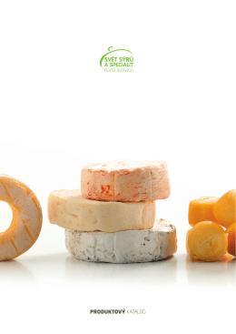 PRODUKTOVÝ KATALOG - Logo Svět sýrů a specialit