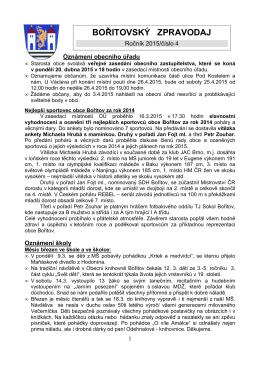 Zpravodaj 4/2015