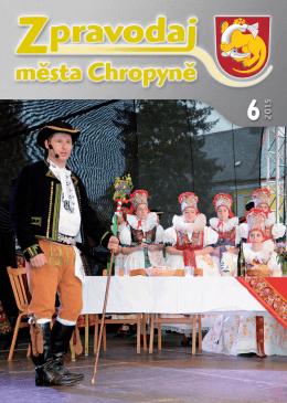 Číslo 6-2015 - Město Chropyně