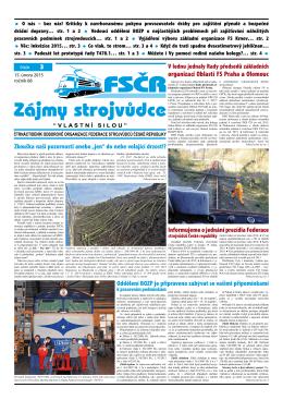 organizací Oblastí FS Praha a Olomouc