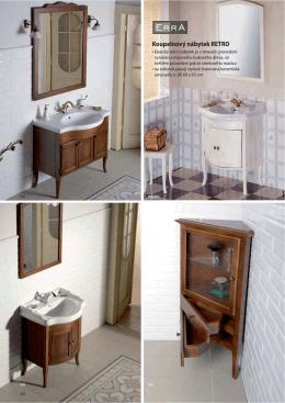 Koupelnový nábytek RETRO