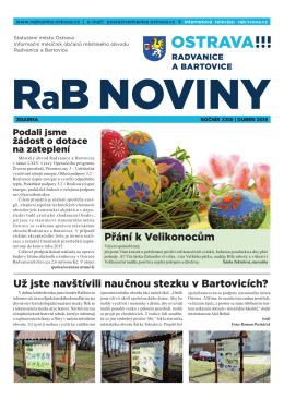 dubeN 2015 - Radvanice a Bartovice