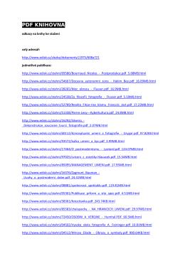 PDF KNIHOVNA