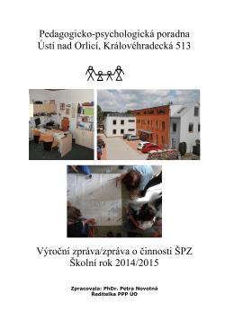 Výroční zpráva 2014/2015 - Pedagogicko