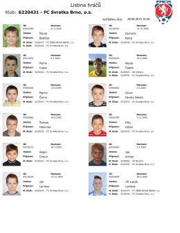 STP A, B - FC Svratka Brno