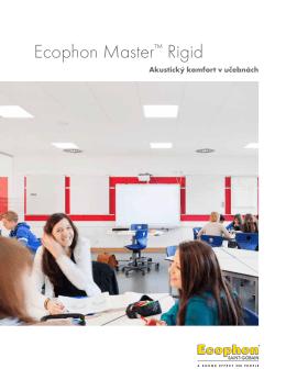 Ecophon Master™ Rigid - akustický komfort v učebnách