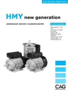 Katalog motorů HM2