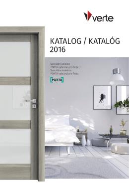 Katalog Verte/Verte Basic KOLEKCE 2016