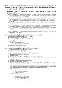 Zápis ke stažení v PDF