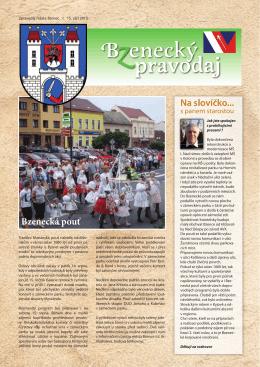 Schvaluje - Město Bzenec