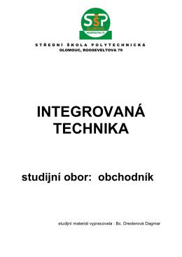dřevařství ITE - Střední škola polytechnická, Olomouc, Rooseveltova