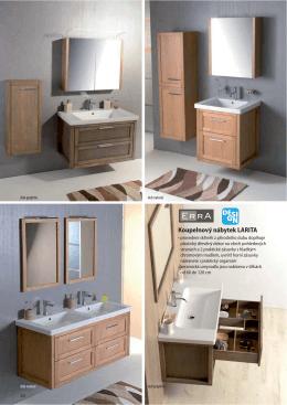 Koupelnový nábytek LARITA