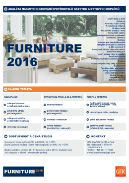 FURNITURE 2016