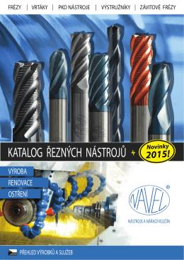 Ceník ostření a renovace nástrojů (2015) - CZK