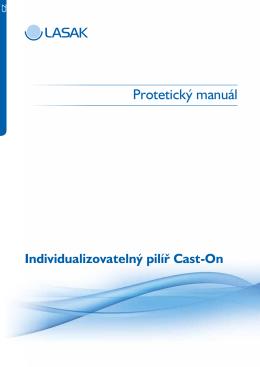 Cast-On – protetický manuál