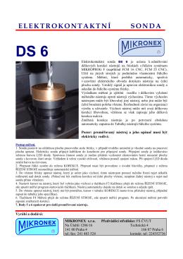 Sonda DS6