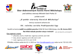 Sbor dobrovolných hasičů Horní Měcholupy