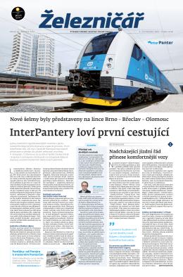 InterPantery loví první cestující - Železničář