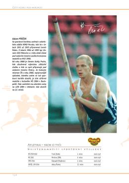 Atletika – skok o tyči
