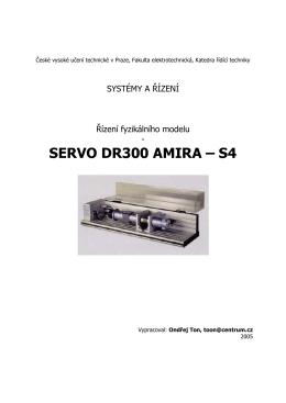 SERVO DR300 AMIRA – S4