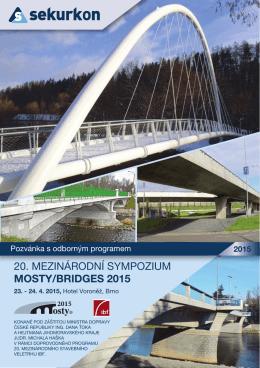 Mosty 2015 - POZVANKA