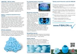 Produktový list FIBALON