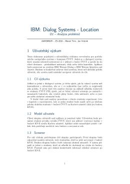 IBM: Dialog Systems
