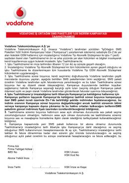 Firma Adı : Firma Tebligat Adresi : IMEI No : KSK Unvanı : KSK Kod