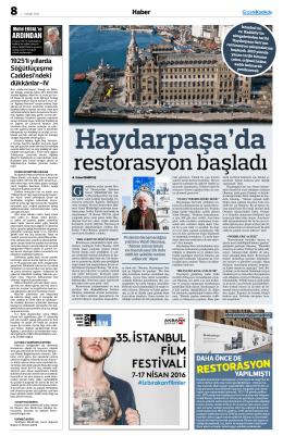 restorasyon - Gazete Kadıköy