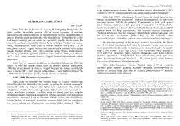 80 yıl önceki eczacılık öğretimi 1925 – 1926